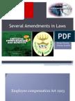 ammendments in labour law