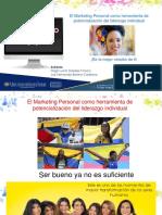 Marketing personal y liderazgo individual - Presentación Ver.  Final Nov-2020