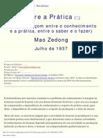 (marx)Mao-Sobre a Prática