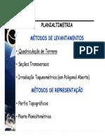 Planialtimetria_02_Metodos_Quadriculação_101009