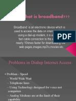 Introduction to broadband