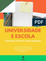 LIVRO UNIVERSIDADE E ESCOLA - Contextos de Ensino e Aprendizagem