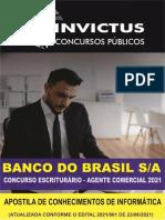 Banco Do Brasi 2021 - Apostila de Conhecimentos de Informatica - InVICTUS