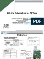 16_OfflineSchedulingFPGAs_Hanzalek_Sucha