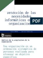 Detección de las necesidades Informáticas en las organizaciones
