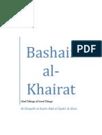 Bashair al Khairat - Glad Tidings of Good Things by Al Ghawth al Azam Abd al Qadir al Jilani