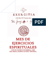 Mes de Ejercicios Espirituales. P. Luis Ribera, CMF