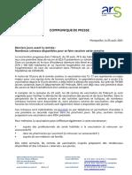 Les centres de vaccination dans l'Hérault avec des créneaux disponibles