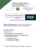 4 Recherche Operationnelle