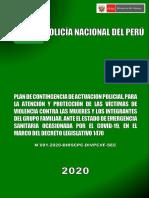 Plan de Contingencia de Medidas de Proteccion Durante Emergencia Sanitaria PDF