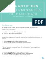 English Grammar Quantifiers