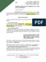 Defesa Preliminar - André (Art 121)