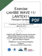 LANTEX11 Participant Handbook a Caribbean Tsunami Warning Exercise March-2011