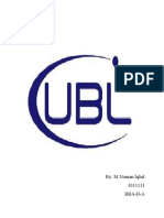 UBL report