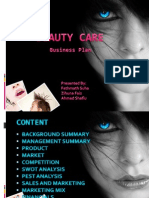 Business Plan of Saloon ppt