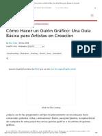 Cómo Hacer un Guión Gráfico_ Una Guía Básica para Artistas en Creación