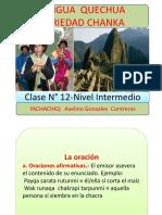 QUECHUA -clase 12