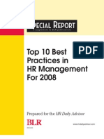 Best HR Practices in 2008