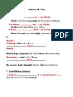 grammar tips 1