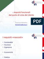 Requisiti Funzionali Per Il Cliente