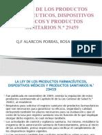 La Ley de Los Productos Farmacéuticos, Dispositivos 2