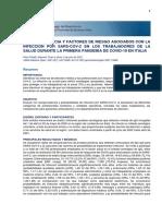 Seroprevalencia y factores de riesgo asociados con la infección por SARS