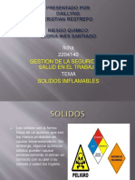 SOLIDOS INFLAMABLES