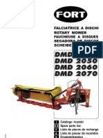 Fort DMD Mower Parts 9-20