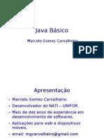 java básico - aula  01
