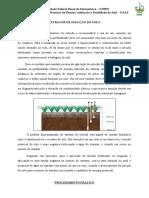 Uso do extrator de solução do solo