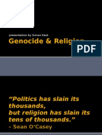 Genocide & Religion