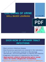 Culturing of Urine Skills in Microbiology