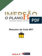Presente Aula 01 - O PLANO B