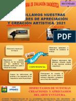 DIAPOSITIVAS ARTE Y CULTURA 2021
