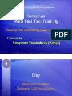 Selenium Tutorial Day 1-0 - Selenium and IDE Overview
