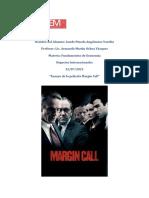 Ensayo de la película Margin Call