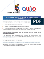 Procedimiento Atencion Tramitologia Municipal en Balcones de Servicio (1)