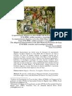 NEVES, Alexandre Emerick; LITTIG, Sabrina Vieira. A representação alegórica na obra Mulher Má de Francisco de Goya. Mirabilia nº 20, 2015.