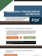 TEMA 7_la Cinética de Corrosión