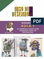 Curso de Desenho Gratuito - Workbook Aula 1