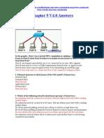 CCNA 1 Chapter 9 V4.0 Answers 2011