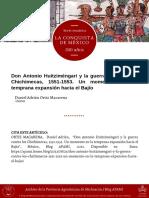 Daom Don Antonio Huitzimengari 2021