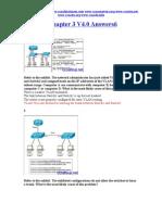 CCNA 3 Chapter 3 V4.0 Answers 2011