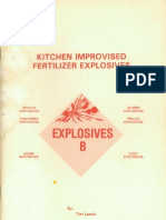 [chemistry explosive] Lewis, Tim - Kitchen Improvised Fertilizer Explosives