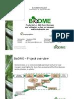 BioDME_ShortPresentation_sept2009