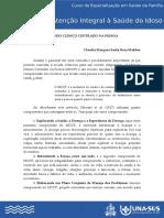 Método Clínico Centrado na Pessoa - MCCP