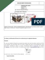 ANALISIS DE OBJETO TECNOLOGICO  sistema de refrigeracion del motor