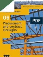 Achieving Excellence Construction & Procurement Strategies