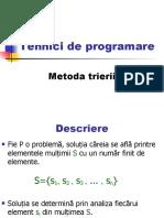 tehnici_de_programare_triere