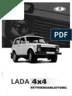 Betriebsanleitung Lada 4x4 SW
